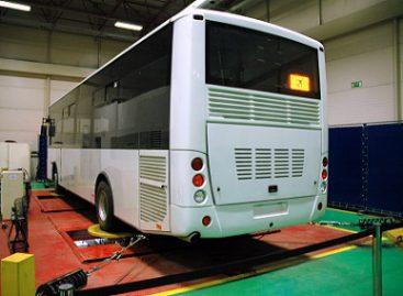 """""""Iveco Bus"""" surinkinės autobusus Turkijoje, vienoje iš vietos gamyklų"""