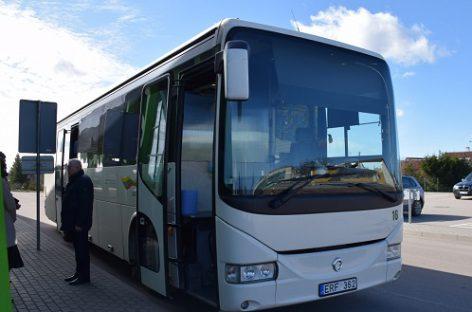 Raseiniškiai pasirengė karantinui: paruošė autobusą ypatingiems atvejams