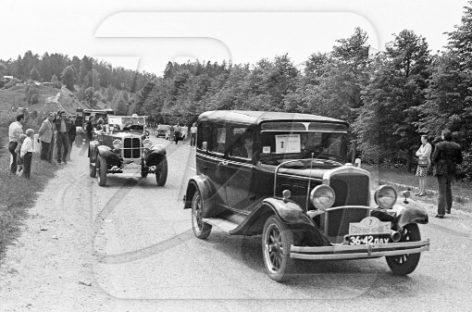 """""""De Soto K"""" – amerikietiško automobilio istorija Europoje"""