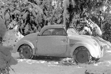 """Austriškas """"liaudiško automobilio"""" variantas – """"STEYR 50″"""