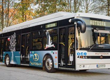 """""""Autosan"""" kuria elektrinį autobusą su keičiamomis baterijomis"""
