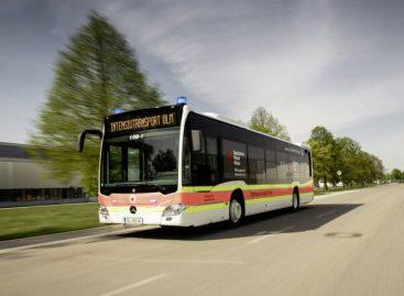 """Daimler Buses"" pristatė ""Mercedes-Benz Citaro"", skirtą COVID-19 pacientams vežti"