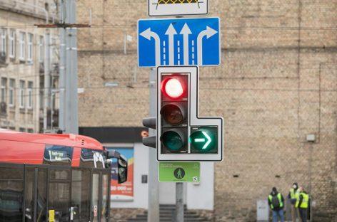 Naujienos aktyviame sostinės transporto mazge: Kalvarijų g. – Konstitucijos pr. sankryža taps saugesnė