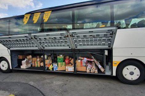 Po pirmos savaitės tarpmiestinius autobusus į viršų tempia siuntos