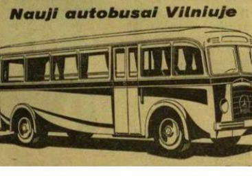 Lietuvai atgavus Vilnių, kauniečiai rengėsi pristatyti sostinei autobusus