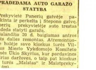 Autobusų istorija 1941-ųjų balandį