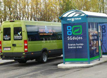 Alternatyvių degalų įstatymo projekte – ir apie viešąjį transportą