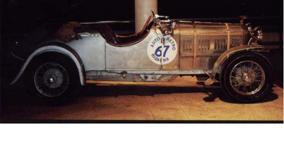 AMILCAR – vienetinis automobilis iš Prancūzijos