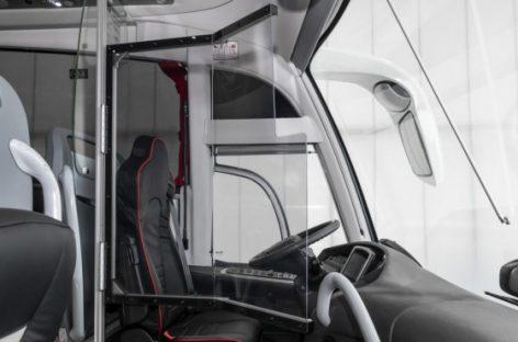 Vairuotojo apsaugą nuo COVID-19 siūlo dar vienas gamintojas