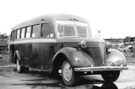 ZIS-16 – eksperimentinis ikikarinio autobuso modelis
