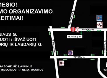 Vilniaus gatvė taps tik pėsčiųjų ir dviratininkų zona