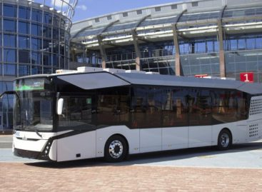 MAZ pristatė elektrinį autobusą