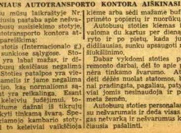 Vilniaus viešojo transporto istorija 1941-ųjų birželį