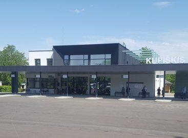 Duris atvėrė naujoji Kupiškio autobusų stotis