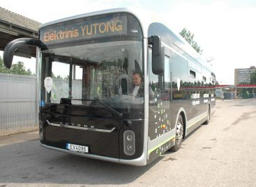 """102 """"Yutong"""" elektrinių autobusų – Norvegijai"""