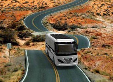 """""""Kayoola Solaris Bus"""" – saulės autobusas iš Ugandos"""