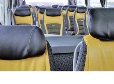"""""""Setra Voyage"""" autobusų sėdynių kartai – dešimt metų"""