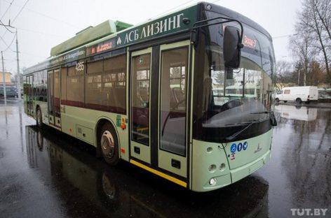 Minske – jau 70 troleibusų su autonomine eiga
