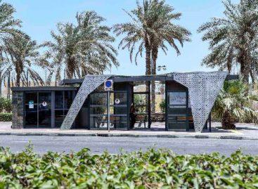 Dubajuje – naujos kartos viešojo transporto stotelės