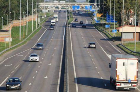 Kelyje nuo Vilniaus iki Kauno bus įrengtos greičio valdymo ir saugaus eismo įspėjimo sistemos