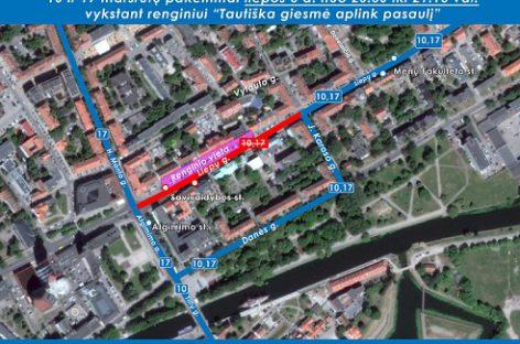 Klaipėdoje liepos 6-ąją – viešojo transporto eismo pasikeitimai