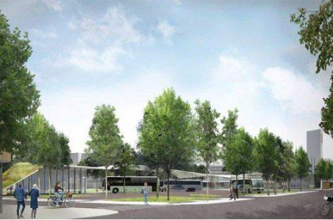 Parengti Panevėžio autobusų stoties projektiniai pasiūlymai
