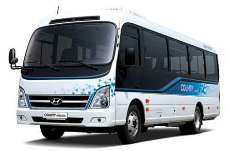 """""""Hyundai"""" sukūrė pirmąjį elektrinį mikroautobusą, galintį nuvažiuoti iki 250 km"""
