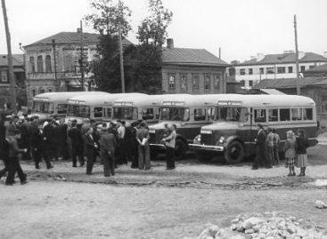 Susipažinkime: nuo 1950-ųjų sostinėje važinėję GZA – 651