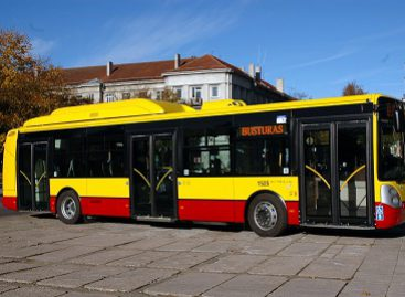 Nemokamos kelionės Šiauliuose lapkričio 1-ąją ir kitos viešojo transporto naujovės