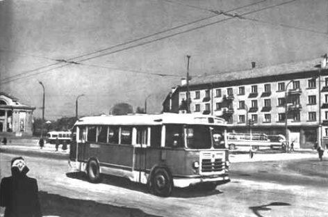 ZIL-158 – vežę vilniečius šeštajame dešimtmetyje