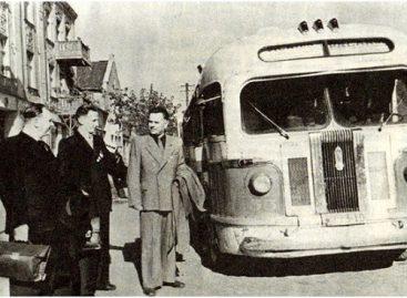 Sostinės autobusų istorija 1955-aisiais