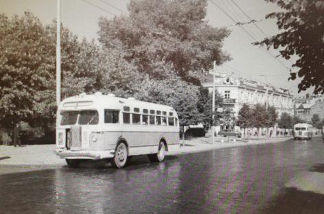 Vilniaus autobusų istorija: 1956-ieji
