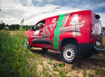 """""""Peugeot Partner 4 x 4 Dangel"""" pravažumo varžybose gali lygintis ir su pikapais"""