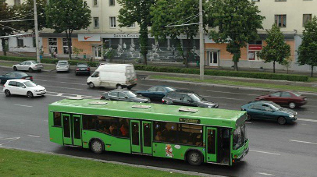 Minske nebevažiuoja viešasis transportas