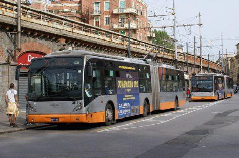 470 mln. eurų – Genujos troleibusų sistemos plėtrai