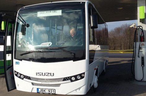 Nemokamas viešasis transportas – dar viename Žemaitijos mieste