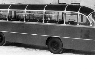 Seni geri pažįstami: autobusas LAZ-695