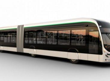 """""""Marcopolo"""" pristato naują elektrinį trambusą"""