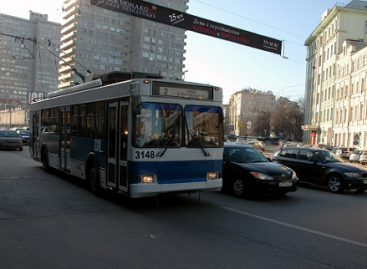 Maskvos troleibusas atsisveikina