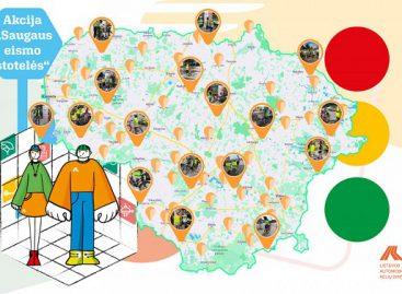 Finišavo Saugaus eismo stotelių projektas – aplankyti visi Lietuvos rajonai, sulaukta apie 2000 lankytojų