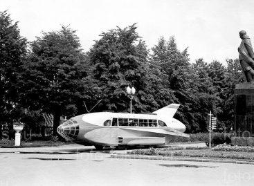Keisčiausias sovietinis autobusas
