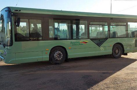 Neįgaliesiems pritaikytas autobusas – dar viename rajone