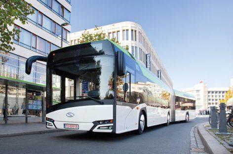 """Izraelis užsakė didelį kiekį dyzelinių """"Solaris Urbino 18"""""""