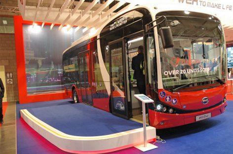Kinijos BYD ir Japonijos HINO drauge plėtos baterijų elektriniams autobusams gamybą