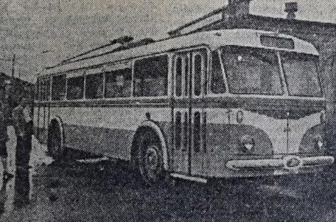 """Prieš 60 metų sostinėje prasidėjo """"Škoda"""" troleibusų era"""