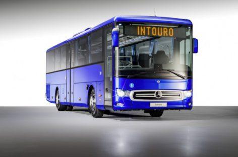 """""""Mercedes-Benz"""" pristato naują """"Intouro"""" su moderniausiomis saugumo sistemomis"""