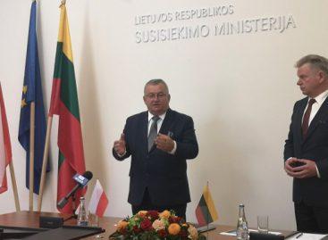 Lietuvos ir Lenkijos transporto ministrų susitikime – glaudesnio bendradarbiavimo nuostatos, pasirašyti memorandumai