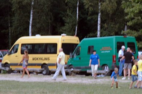 LTSA tikrins vaikus vežančius autobusus