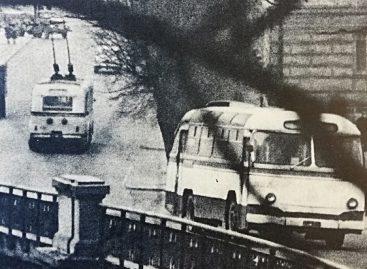 Vilniaus autobusų parko istorija: 1963-ieji