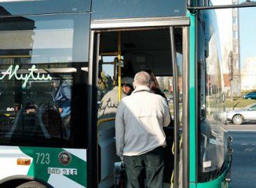 Nuo lapkričio 16 d. labiau ribojamas Alytaus viešojo transporto eismas